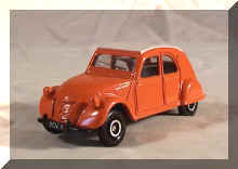 2cv Corgi made for Fina.